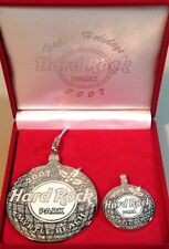 Hard Rock MYRTLE BEACH 2007 CHRISTMAS STAFF Ornament & Pin Boxed Set HRC #42242