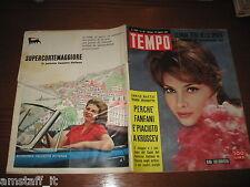 RIVISTA TEMPO 1961/33=GINA LOLLOBRIGIDA=HEIDI DICHTER=GUATEMALA=PUBBLICITA' AGIP