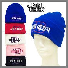 **ROYAL BLUE** JUSTIN BIEBER BEANIE WINTER CAP HAT FOLD UP CUFF BEANIE