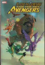 LOCKJAW AND THE PET AVENGERS MARVEL LG HC GN TPB LOCKHEED FROG THOR + SEALED NEW
