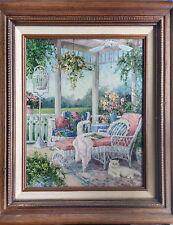 Barbara Mock BEECH STREET ART COMPANY, Original/Signed Painting, Appraised w/COA