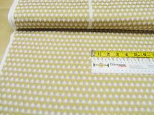 Cotton fabric Kokka Charms Posies Gold Metallic Gauze Quilt fabric 0.54yd(0.5m)