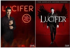 Lucifer:The Complete First+Second Seasons 1-2(DVD,2 Sets,6 Discs)NEW Season 1 2