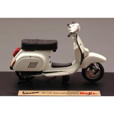 VESPA PK 125 AUTOMATICA 1984 CREAM 1:18 Maisto Moto Die Cast Modellino