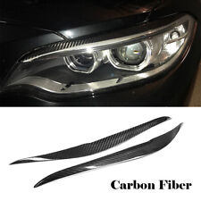 Carbon Headlight Eyebrow Eyelid For BMW M2 F22 F23 220i 228i M235i 2014-2018