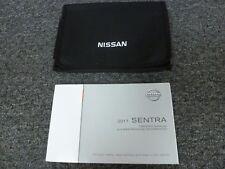 2017 Nissan Sentra Sedan Owner Owner's Manual User Guide S SV SR Turbo SL NISMO
