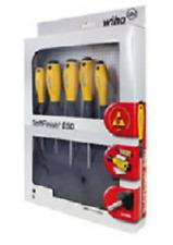 Wiha 5 x SoftFinish ESD Safe Screwdrivers - Electro Static Discharge Safe- 27252