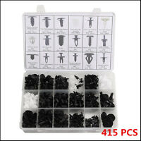 415pcs Trim Clip Retainer Panel Bumper Fastener Kit Set For Ford ASSORTMENTS