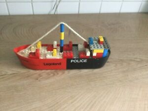 Lego, Legoland Polizeischiff aus den 80er Jahren