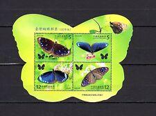 Taiwan 2011 Butterflies MNH