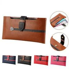 """Universal Wallet Case Luxury PU Leather Pouch Purse Cover for 5.5"""" Cell Phones"""