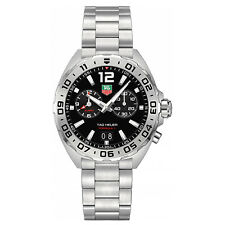 Tag Heuer Formula 1 41mm Chrono Date Alarm Quartz Mens Watch WAZ111A.BA0875