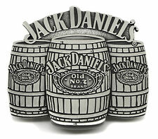 Jack Daniel`s Belt Buckle Old No 7 Brand Barrels Authentic Officially Licensed