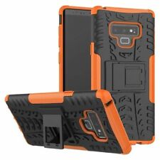Para Samsung Galaxy Note 9 N960F Carcasa Híbrida 2 Piezas Exterior Naranja Funda