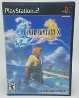 Final Fantasy X For PlayStation 2 PS2 - Complete & Tested - Free Ship!