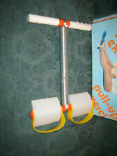 Vintage Pull-Up Exerciser Spring Action Rowing Ab Belly Tummy Buster w/box