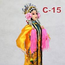 C-15 China Peking Oper chinesisch Puppe Figur Seide 31 cm Neu Geschenkidee OVP