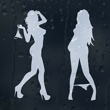 Sexy Naked Girls Ladies Women Car Decal Vinyl Sticker For Bumper Or Window