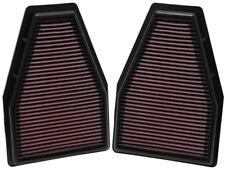 33-2484 K&N Replacement Air Filter PORSCHE 911 3.4L-H6; 2012 (2 PER BOX) (KN Pan