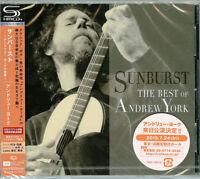 ANDREW YORK-SUNBURST-THE BEST OF ANDREW YORK-JAPAN 2 SHM-CD G88