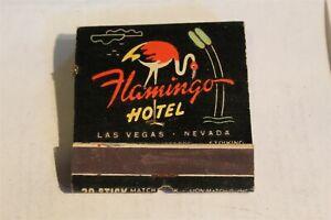FLAMINGO HOTEL LAS VEGAS NV MATCHBOOK MISSING A COUPLE MATCHES