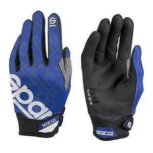 Sparco Mechaniker Handschuhe MECA-3 blau 8 DE
