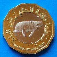 Puntland 200 shillings 2015 UNC Dugong Horse Bi-Metallic Bimetal unusual coin