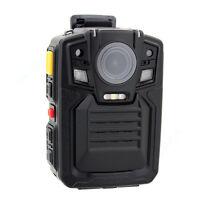 HD 1296P Police Camera Body Video Camera DVR 64GB IR Night Vision+Remote Control