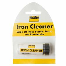 VILESELINE WIPE OFF SCORCH,STARCH BURN MARK BLACK CLEANER SOLE PLATE IRON VILENE