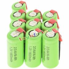 batteria ricaricabile 10 pezzi 2/3AA 1.2V 1800mAh Ni-MH ricaricabile batteria