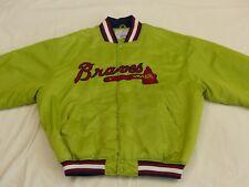 Atlanta Braves Tomahawk Starter Bomber EE.UU. Chaqueta MLB Vintage Tallla: XXL