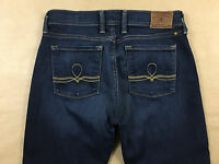 LUCKY BRAND Womens Stretch Sofia Boot Blue Jeans Tag Size 6/28 R Actual 28x32