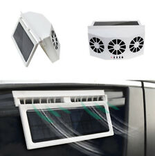 4W Solar Power Auto Car Window Air Vent Ventilator Mini Air Conditioner Cool Fan