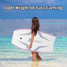 41 inch Lightweight Body Board Surfing BodyBoard with Wristband Beach Kids Adult