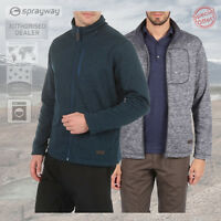 Sprayway Mens Rowe Fleece Jacket - New - Grey or Blue - RRP £70.00