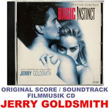 Basic Instinct - Jerry Goldsmith - Original Soundtrack CD - Varése Sarabande