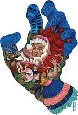Rimada Screaming Skull STICKER Decal Gustavo Hand Painting G51