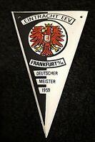 RAR Mini Wimpel Eintracht Frankfurt Nescafe 11 x 7 cm Bundesliga Fussball SGE