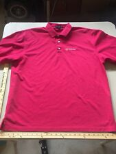 H D Supply Men's Red Polo Shirt 2XL XXL Extra Extra Large Port Authority