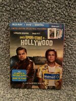Once Upon A Time in Hollywood Blu-ray/DVD combo Walmart Exclusive. Brand New.