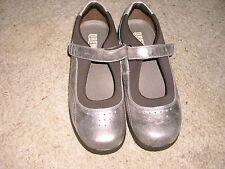 Women's Drew Rose Orthopedic Mary Jane Shoes Sz.8.5M NWOB Pewter Metallic