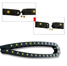 """1M 40"""" R38 18mm x 35mm CNC Machine Towline Nylon Cable Drag Chain Wire Carrier"""