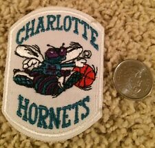 Charlotte Hornets NBA Fully Stitched Hat Shirt Basketball Crest Patch 3 X 2.2