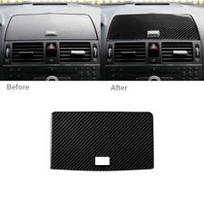 Carbon Fiber Console GPS Navigation Cover For Mercedes-Benz C Class W204 2007-10