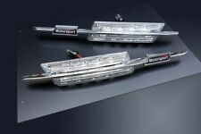 BMW E39 5-Series M M5 LED Clear Chrome Side Indicator Repeater Signal-Light Lamp