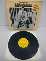 Eddie Cochran The Very Best Of 15th Anniversary Album Vinyl UK Fame EMI LP EXC++