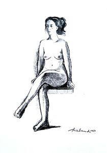 Wayne Thiebaud - Graphite pencil drawing