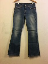 Levi Strauss Misses Jeans Size 10 Relaxed Boot cut Stretch (c9)