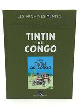 LES ARCHIVES TINTIN TINTIN AU CONGO MOULINSART ETAT PROCHE DU NEUF