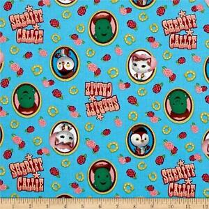 CRIB/TODDLER SHEET/FITTED/COTTON - SHERRIF CALLIE AND FRIENDS